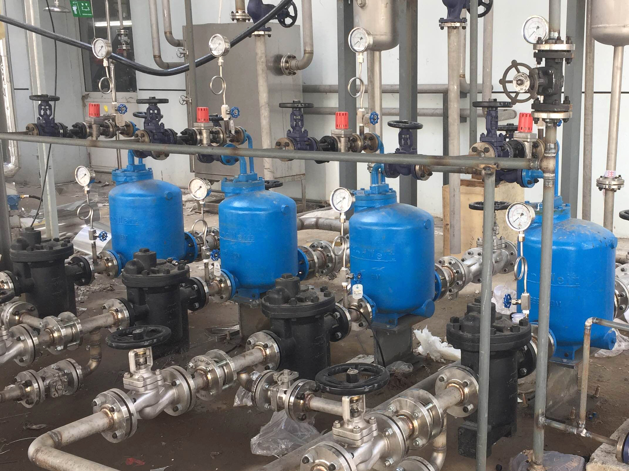 宝钢股份—高温冷凝水闭式回收节能方案
